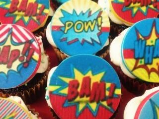 Cupcakes comics Mallorca