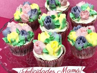 Cupcakes flores Mallorca